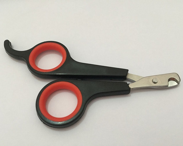 Pet Dog Cat Nail Clippers Trimmer Scissors for Small Dogs and Cats Stainless Steel Pet Grooming Tool W7318