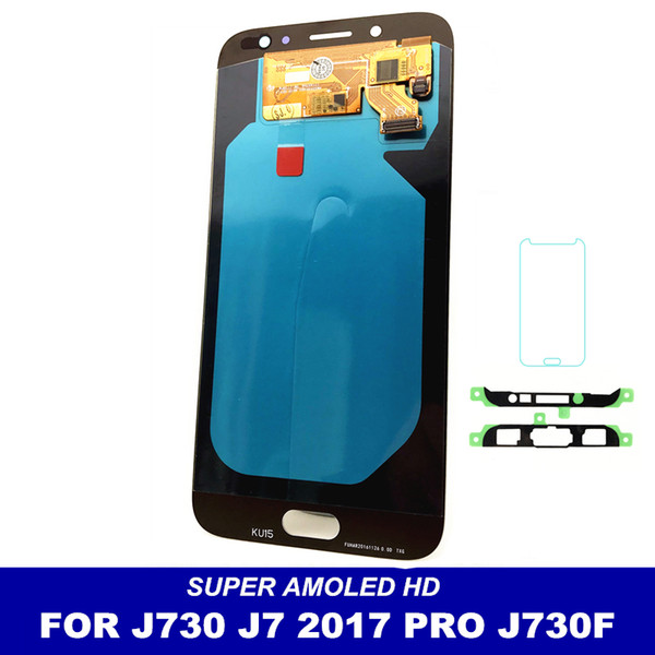 2019 LCD Replacement For Samsung Galaxy J7 Pro 2017 J730 J730F LCDs Screen  Display Touch Digitizer Assembly Brightness Adjustment From A403288115,