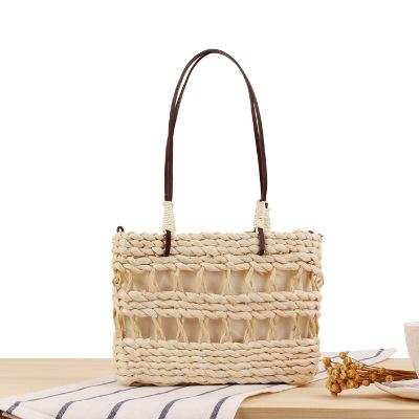 8bbf4c7a2d New Women Straw Bag Handbags Handmade Braided Ladies Holiday Beach ...