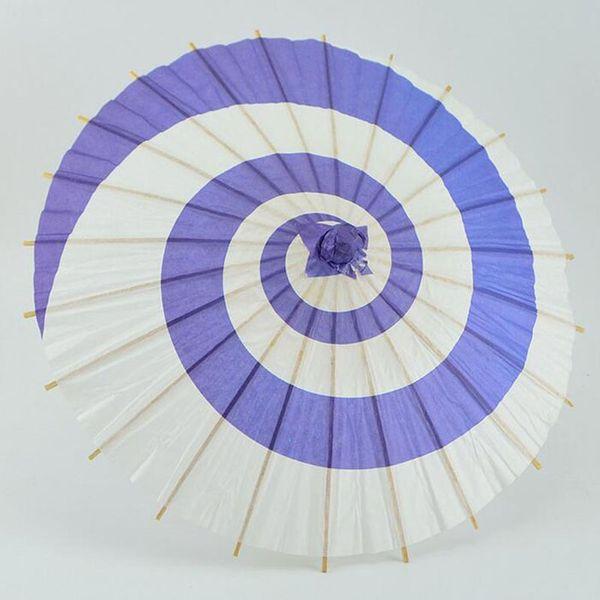 20pcs/lot 30cm Children Style Japanese Paper Umbrella Mini Hand-painted Long-straight Craft Parasols Home Decoration ZA4247
