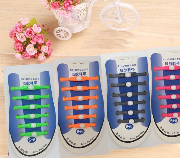 V-Tie No Tie Shoe lace Unisex Fashion Design Athletic Running Elastic Lazy Silicone Shoelaces All Sneakers for auldt and kid(12pcs) Global