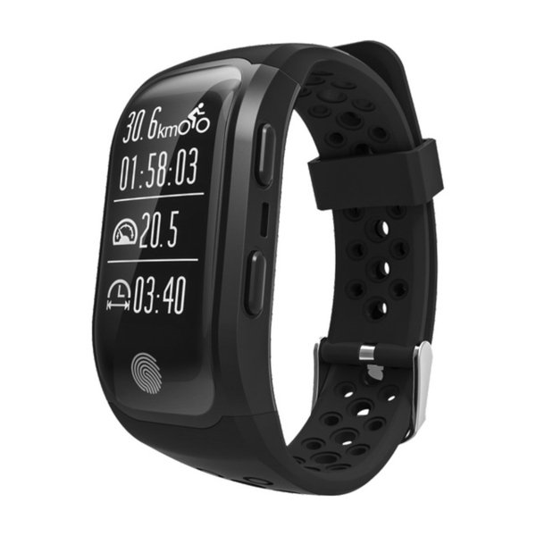Altitude Meter GPS Smart Bracelet Watch Heart Rate Monitor Smartwatch Fitness Tracker IP68 Waterproof Wristbands For iPhone Android Watch