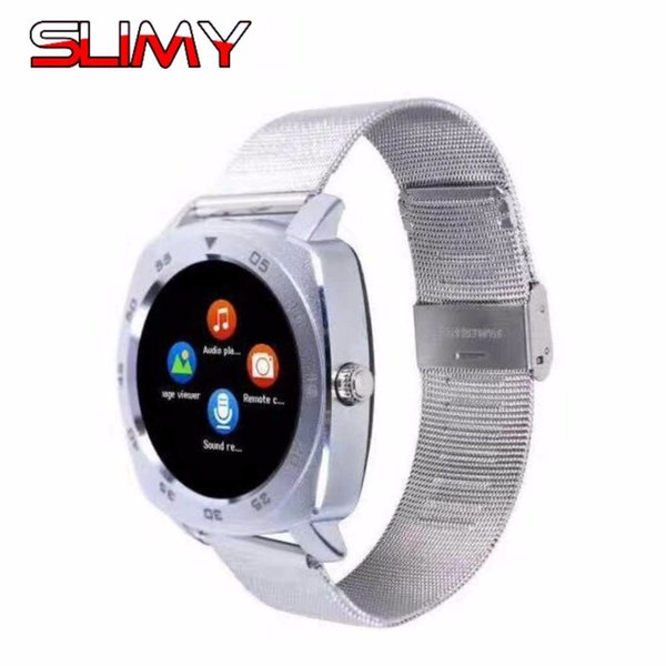 Slimy Smart Watch Phone X3 Clock Support SIM TF for Android Wristwatch Smartwatch Phone PK GT08 U8 DZ09 A1 V8