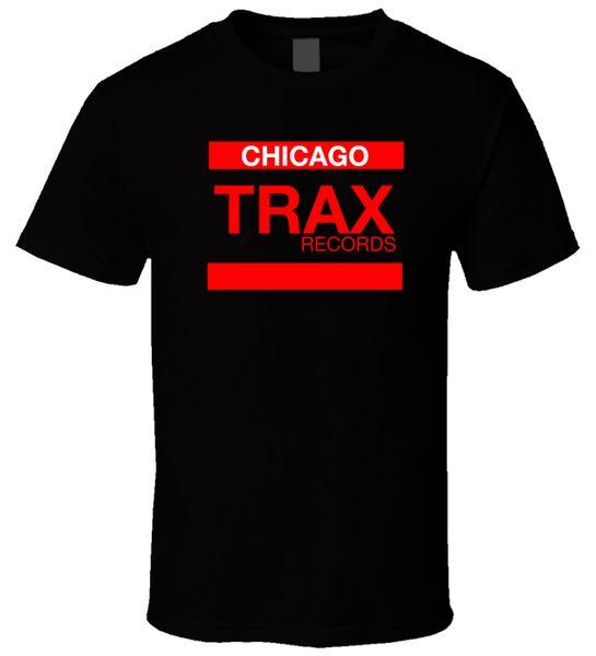 Trax Kayıtları 4 Siyah T Shirt Erkek T-shirt Düşük Fiyat 100% Pamuk Tarzı Kısa Kollu Baskı Tee Gömlek Sıcak Ucuz erkek