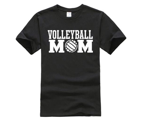 Volleyballer Mom men's T-Shirt Design Tops Hot Sales Tee Shirts For men Summer Kawaii Design men'S T Shirt