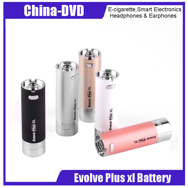 Authentic Yocan Evolve Plus XL 1400mAh Battery Built In Silicon Jar For Wax Dab Pen Kits Electronic Cigarette Battery 100% Original