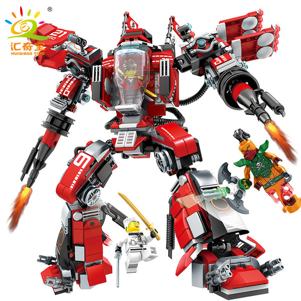Steel Machine A Deformed Robot 926 Building Block Children's Large Science and Technology Incorporate Puzzle Model Boy Toys