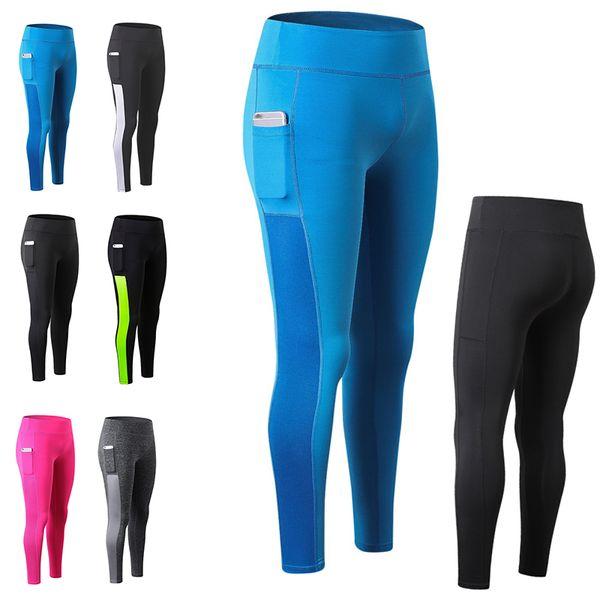 2019 Tüm Sezon kadın Profesyonel Yoga Pantolon Yüksek Bel Seksi Elastik Sıkı Pantolon Vücut Kalça Nefes Spor Pantolon