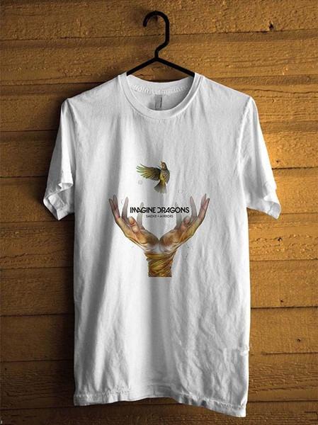 Serin Tee Gömlek erkek Kısa Kollu Hayal Dragons Toptan Indirim Aynalar Çuha Mürettebat Boyun T Gömlek