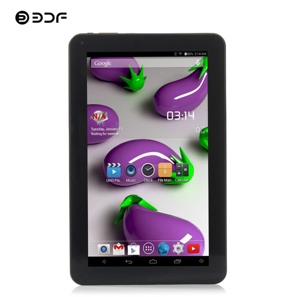 BDF 2018 New Fashion 9 Inch Android 4.4 Tablets Pc Dual Camera WiFi 7 8 9 10 Inch Android Tablet Pc Quad Core WiFi Tablet