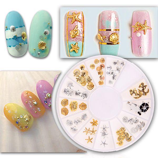 2017 New Fashion 3D Fingernail Sticker DIY Design Painting Gel Nail Glue Rhinestone Glitter Stickers Manicure Nails Decoration