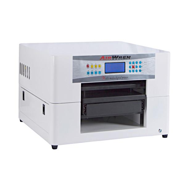 2018 new A3 tshirt printer mini digital textile printing machine for sale