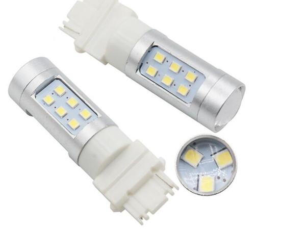 3156 3157 2835 21SMD Car LED Bulb brake light Parking DRL Turn signal 10w white 12V