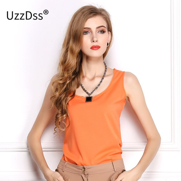 2018 Summer explosion models chiffon shirt bottoming shirt Women Sleeveless Sexy Loose Casual Top Vest Camis Blouse New Fashion