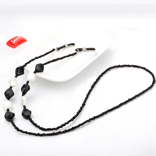 Acrylic Eyeglass Reading Glasses Sunglasses Spectacles Holder Cord Chain Strap