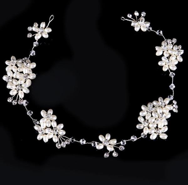 Pearl diamond hand headwear, wedding dress, accessories, hair accessories, bride accessories