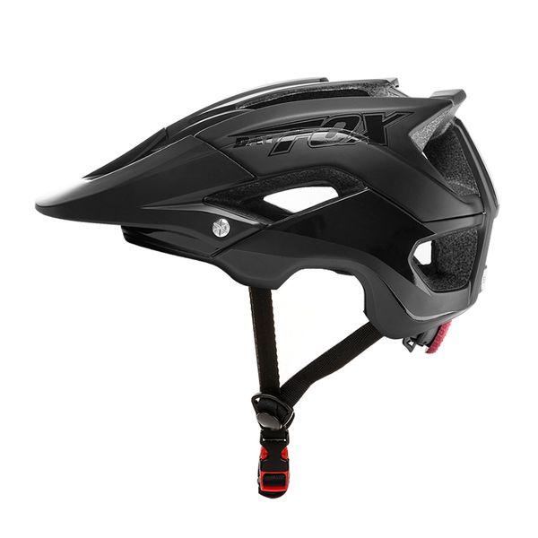 BATFOX Fahrradhelm Ultraleichter Fahrradhelm Ciclismo Integral geformte Bike Road MTB Sicherheit 56-63CM