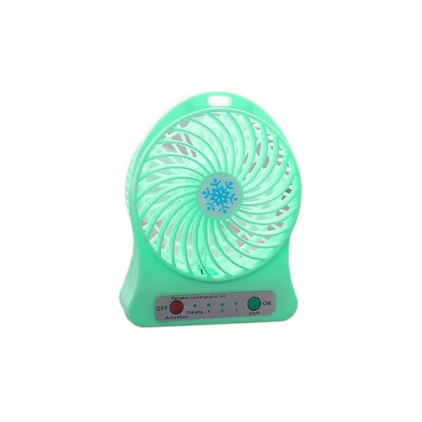 high quality Portable Size Rechargeable Cooler Cooling Fan Air Cooler Mini Operated Desk USB Fan for PC Laptop Computer Best Gift