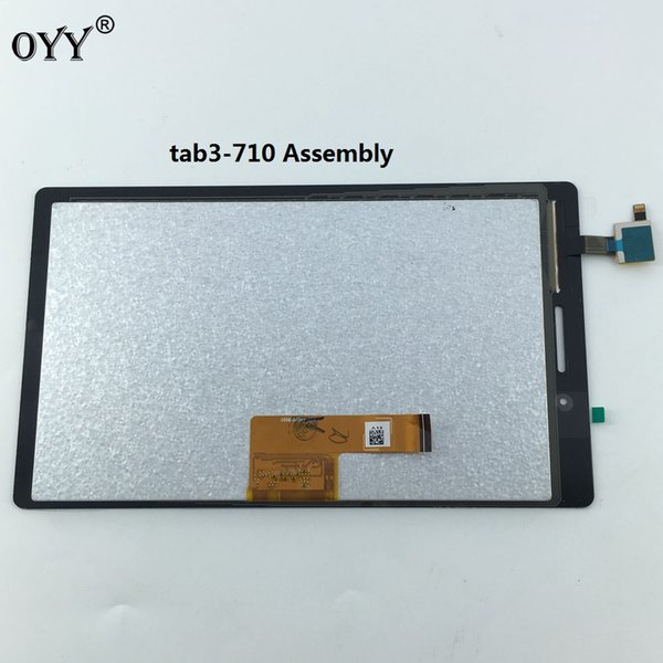 LCD Display Panel Monitor Touch Screen Digitizer Glass Assembly For Lenovo Tab 3 710 Essential Tab3 TB3-710F TB3-710L TB3-710I
