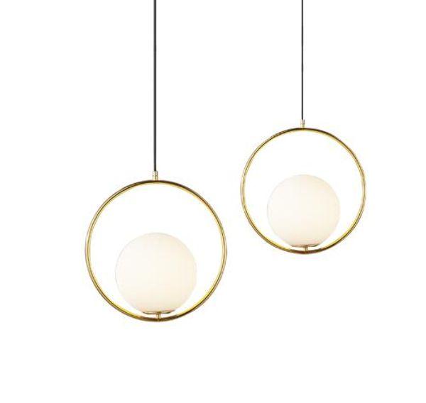 Runde Globe Pendelleuchten Bar Restaurant Küchenarmaturen Glaskugel Pendelleuchten Hang Lamp Lamparas Leuchte avize