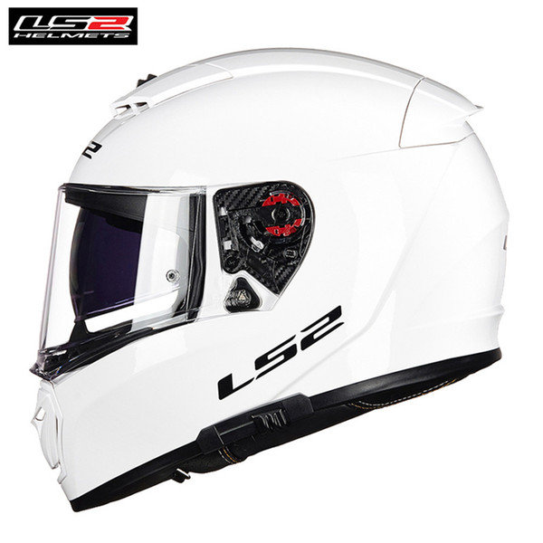 LS2 BREAKER Racing Motorradhelm BOLD PHYSICS CLASSIC Chorme Casco Moto Capacetes de Motociclista Vollgesichts FF390