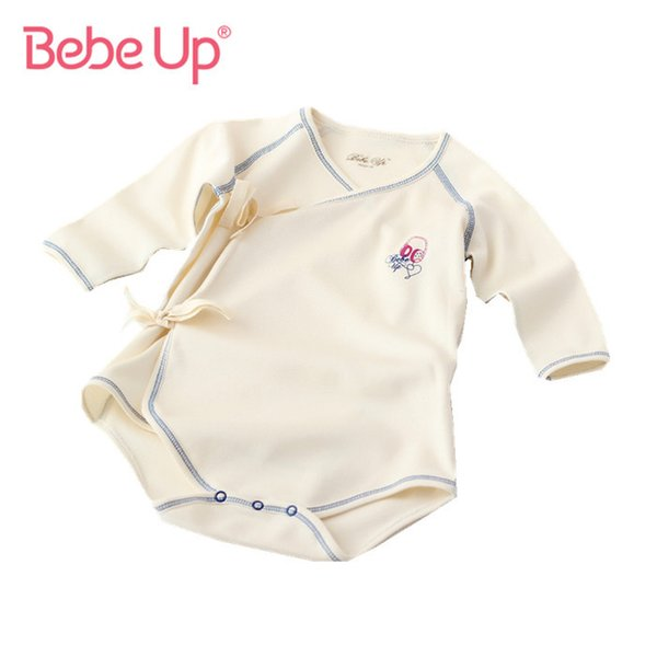 Newborn Long Sleeve Bodysuits Baby Girl Boy One-piece Clothes Infant Twin Baby Clothing Fine Cotton 2017 Spring Summer