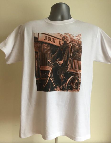 Catweazle Tişört - Retro 70s Çocuk Çocuk Tv - Geoffrey Bayldon Kalite T Shirt Erkek Baskı Kısa Kollu O Boyun Tshirt