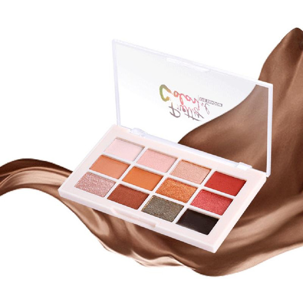 Hot Fashion Color-changing Diamond Pearl Eye Shadow Multi-color Polarized Eye Shadow Palette Women Gift Smoky/Warm Color