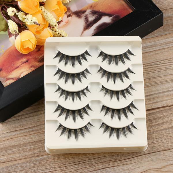 5 Pairs Japanese Serious Makeup False Eyelashes Long Thick Eye Lash Extension Fashion Beauty Tools