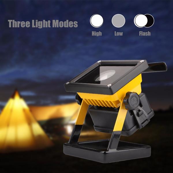 Linterna portátil que acampa del poder más elevado 30W 2400Lm LED que acampa 3 modos linternas portátiles al aire libre luz del trabajo del trabajo 3 * 18650 batería