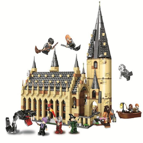 Harry Potter blocos de construção Mundo Hogwarts Great Hall Novo 2019 Presente De Natal