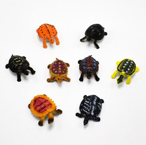 New Funny Mini Simulato Tortoise Shape Kids Toys Home Party PVC carino Regali Decor Spedizione gratuita