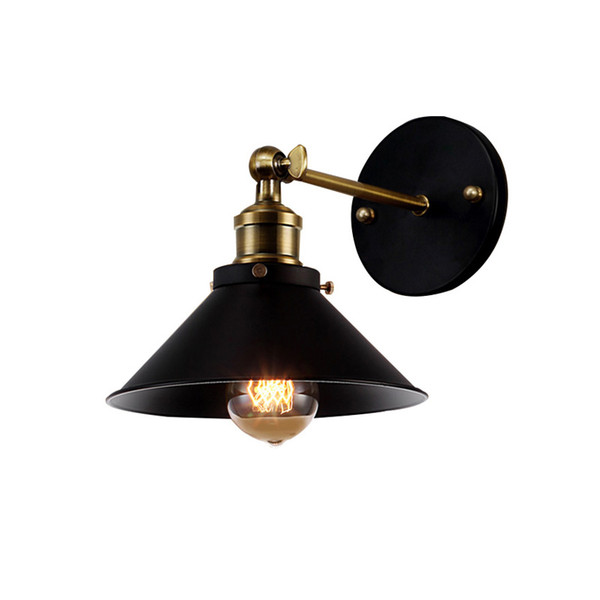 American Vintage Wall Lamp Indoor Lighting Bedside Lamps Retro Wall Lights For Reading Room Bedroom Home Free Shipping(BG-70)