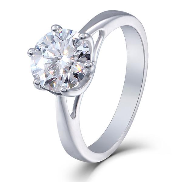 bague diamant 2.5 carats