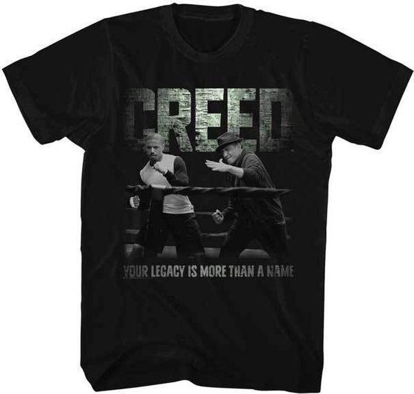 T-shirt Rocky Donnie Creed in t-shirt adulta colorata T-shirt Hip Hop T-shirt con stampa di grandi nomi