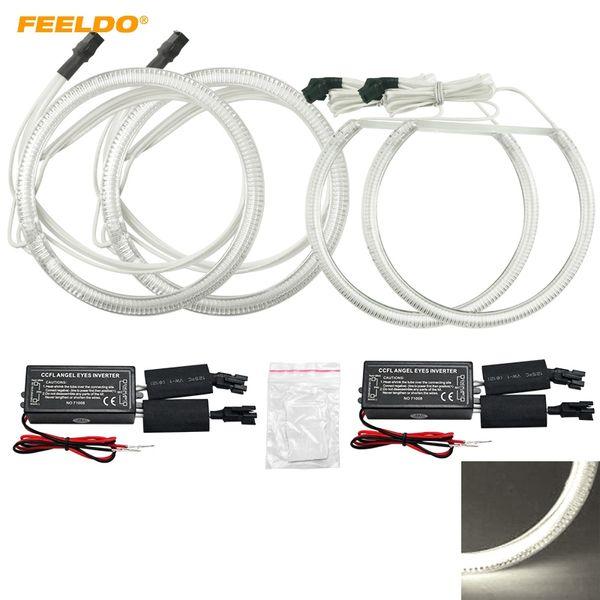 FEELDO Car CCFL Angel Eyes Light Halo Rings Kits For Toyota Fortuner 08 Car Styling Headlight DRL #4846