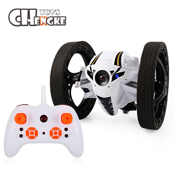 Mini Bounce Car RC 2.4GHz Strong Jumping RC Car With Flexible Wheels Remote Control Car For Kids Gifts Toys