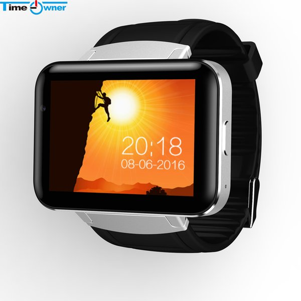 DM98 Bluetooth Smart Watch 2.2 inch Android OS 3G Smartwatch Phone MTK6572 Dual Core 1.2GHz 512MB RAM 4GB ROM Camera WCDMA GPS