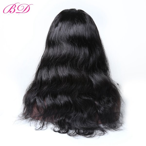 BD HAIR Brazilian Straight Body 360 Lace Wigs 150% Density Full Head Lace Free Part Can Be Curled Remy Hair