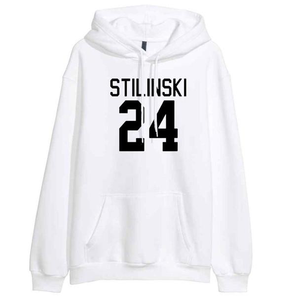 Sudaderas con capucha para mujer 2018 Primavera recién llegada Sudadera con capucha de invierno con estampado STILINSKI 24 Chupones de hip hop adolescente Wolf Harajuku