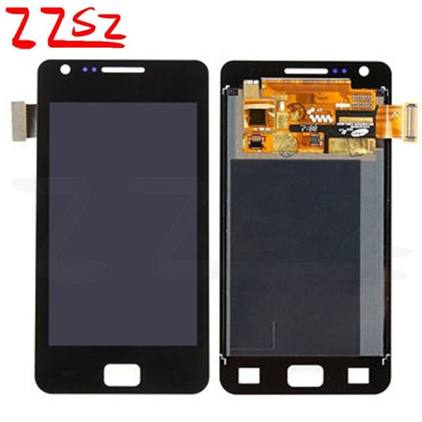 Original For Samsung Galaxy S2 i9100 LCD Digitizer Touch Screen Replacement Display With Full Assembly white black with free DHL
