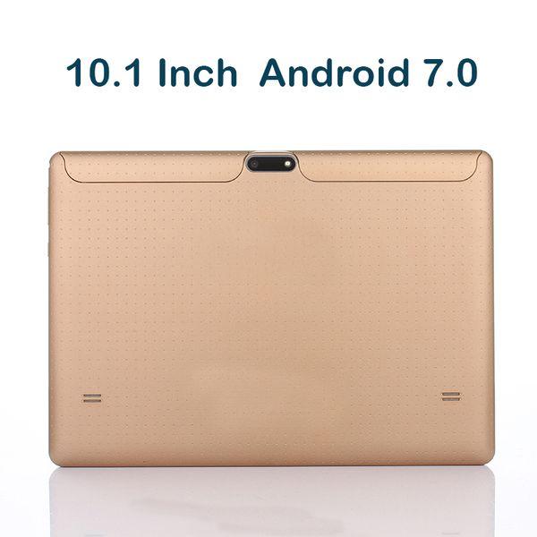 10,1 Zoll Quad Core 1 GB RAM 16 GB ROM Telefonanruf Tablet PC 3G WCDMA Android 7.0 Dual SIM 1280 * 800HD IPS GPS Bluetooth Tabletten