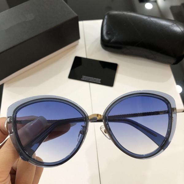 Compre Chanel Sunglasses Custom Diseñador De Moda Gafas De Sol Ojos ...