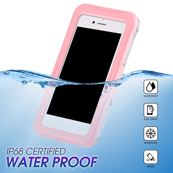 New Arrival IP68 Waterproof Shockproof Dust proof Mobile Phone Case for Samsung Galaxy S8 S8 Plus S9 S9plus iPhone 8 7 6 plus
