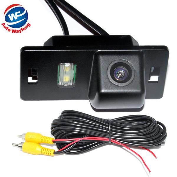 Telecamera retrovisore per auto per Audi A3 / A4 (B6 / B7 / B8) / Q5 / Q7 / A8 / S8 Riesame di backup Vista posteriore Parcheggio Telecamera retromarcia