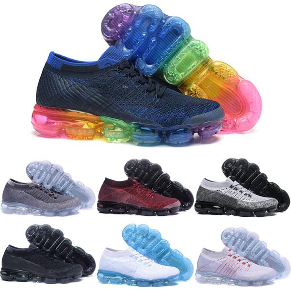 Toptan Ucuz Koşu Ayakkabıları 2018 Yüksek Kalite Yeni Ürün HAVA Yastık 2018 Sıcak Satış Mens Womens Sneakers Spor Atletik Boyutu 5.5-11