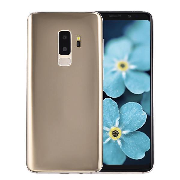 top popular Unlocked 2G GSM Goophone S9+ Plus Clone 5.72 inch IPS 960*540 qHD Dual Core MTK6572 512MB 512MB Android 7.0 GPS WiFi 2.0MP Camera Smartphone 2019