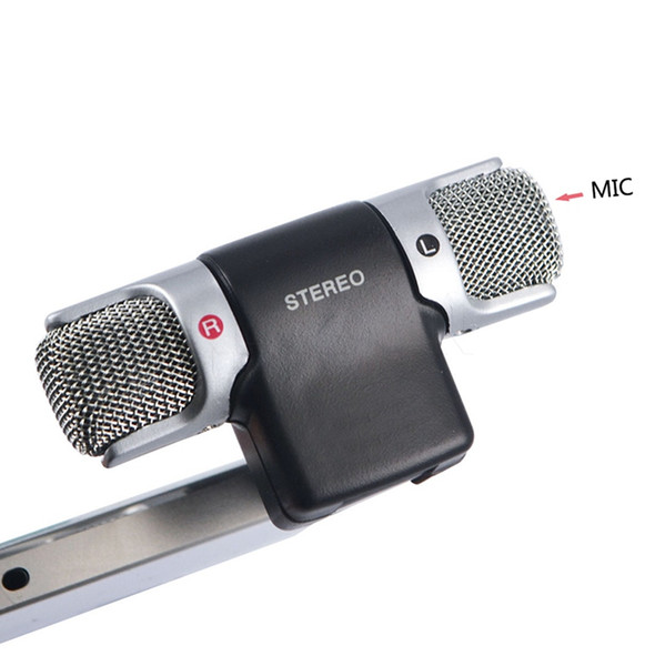 Rushed Sale Karaoke Computer Conference Microphones Microfono Skype Msn Singing Recording 3.5mm Condenser Microphone Mic for Pc Laptop