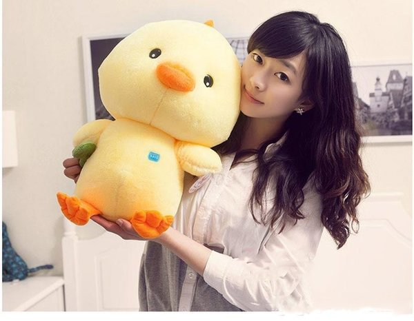 2018 New 50cm super Cute Yellow chicken Stuffed animal soft plush toys Creative Gifts for birthday or christmas