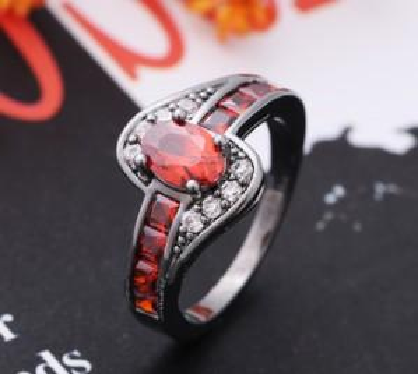 New arrival women men fashion jewelry wish zircon gemstone ring Love Valentine's day Christmas mother festival gift
